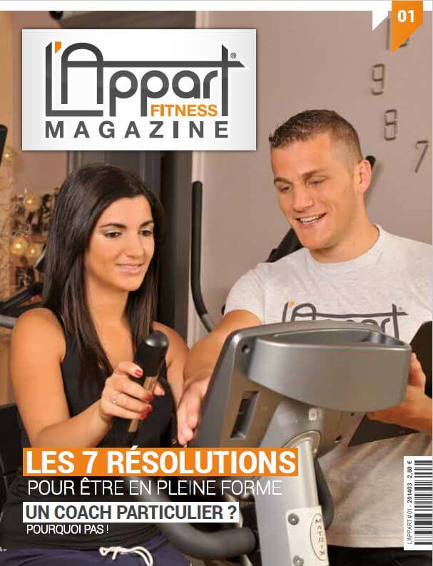 MAGAZINE L'APPART FITNESS N°1 -