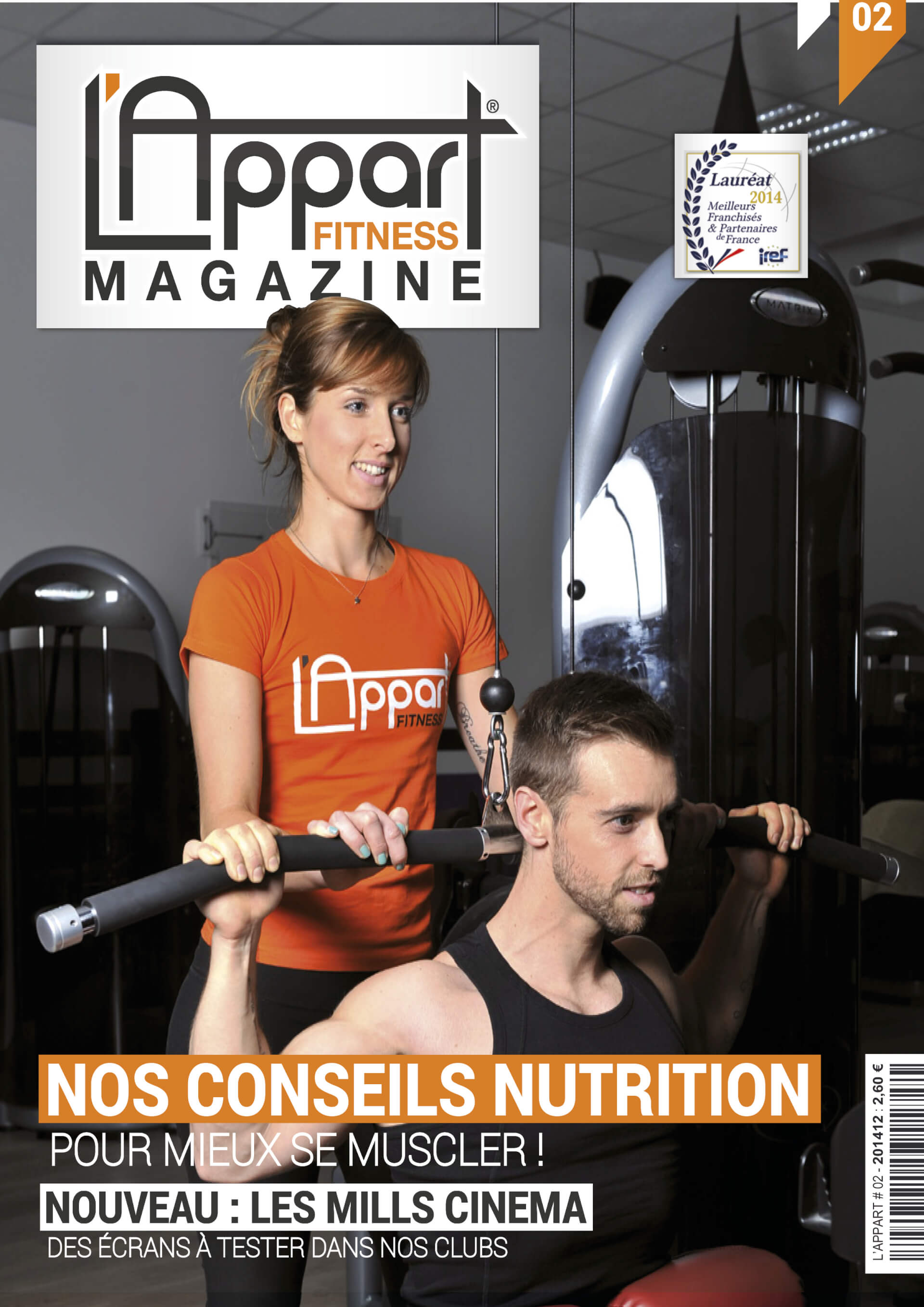 MAGAZINE L'APPART FITNESS N°2