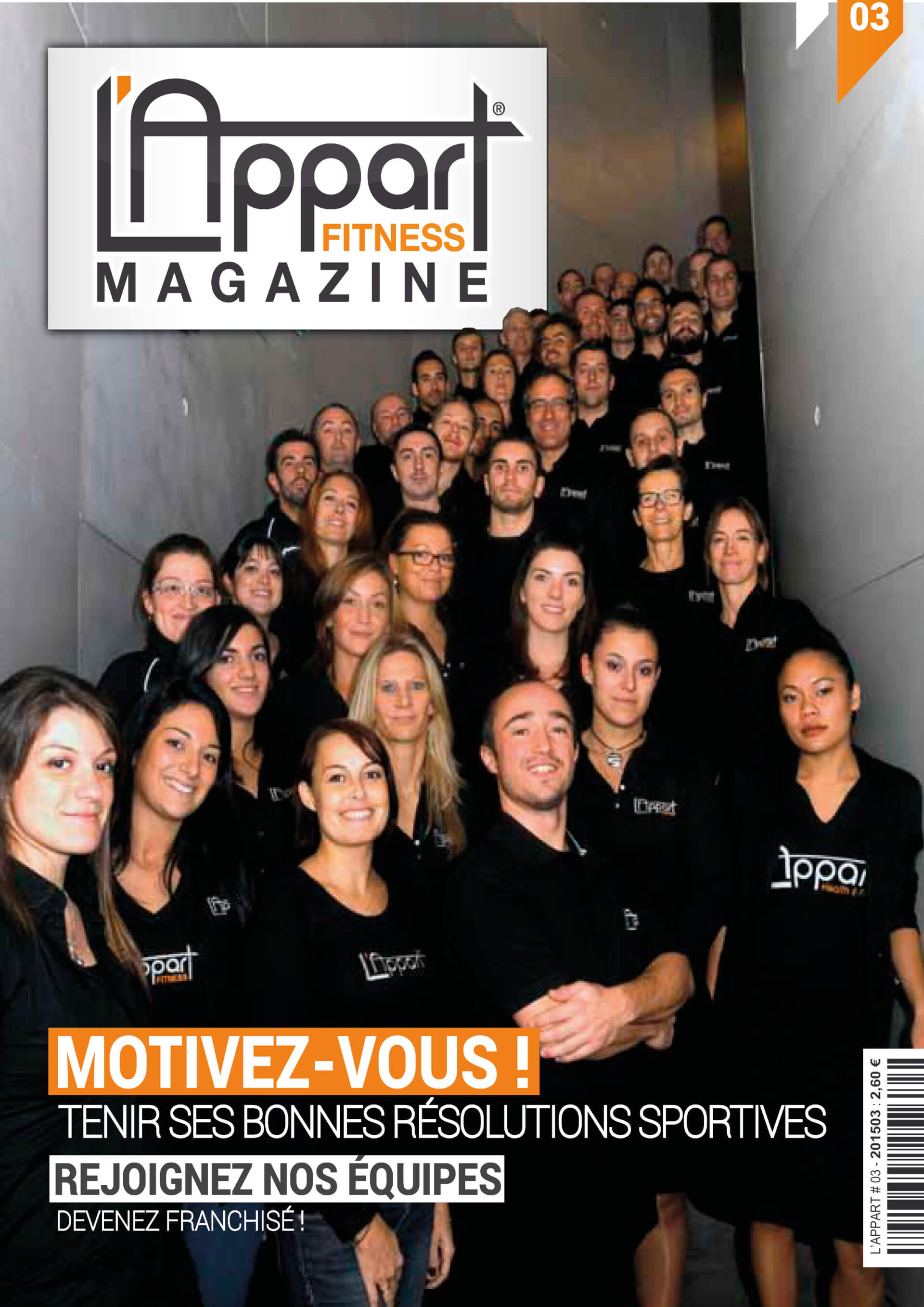 MAGAZINE L'APPART FITNESS N°3 -