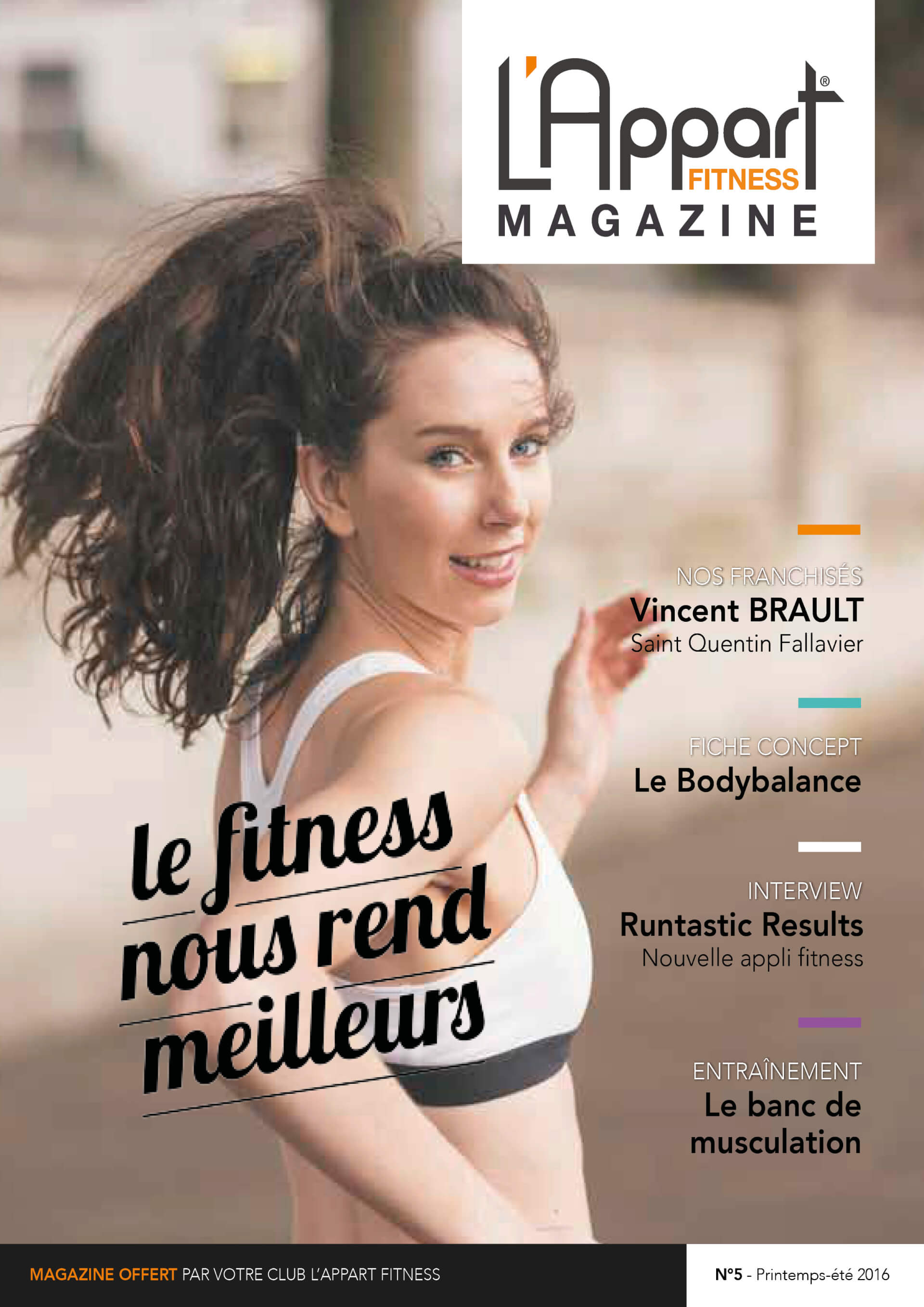 MAGAZINE L'APPART FITNESS N°5