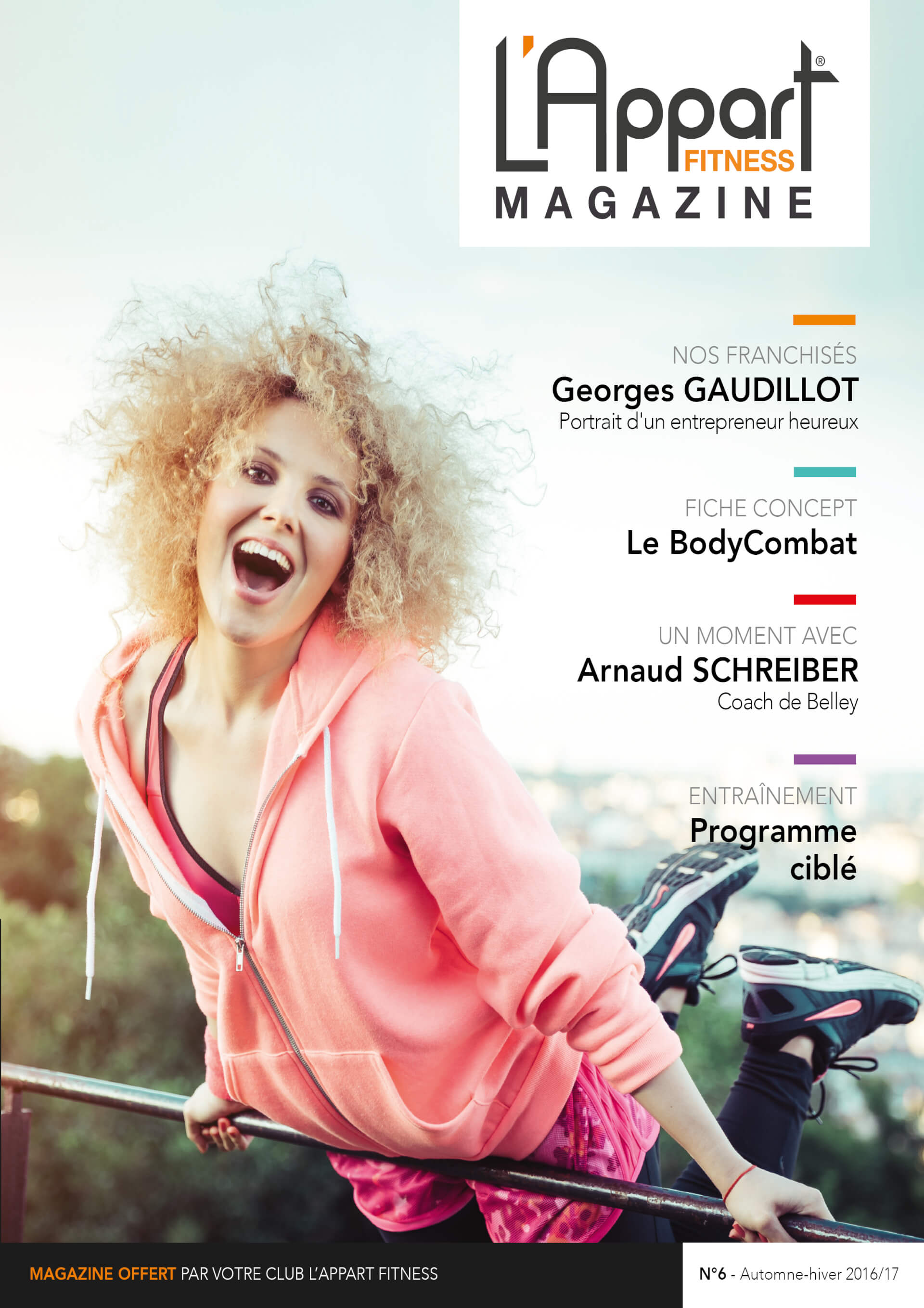 MAGAZINE L'APPART FITNESS N°6