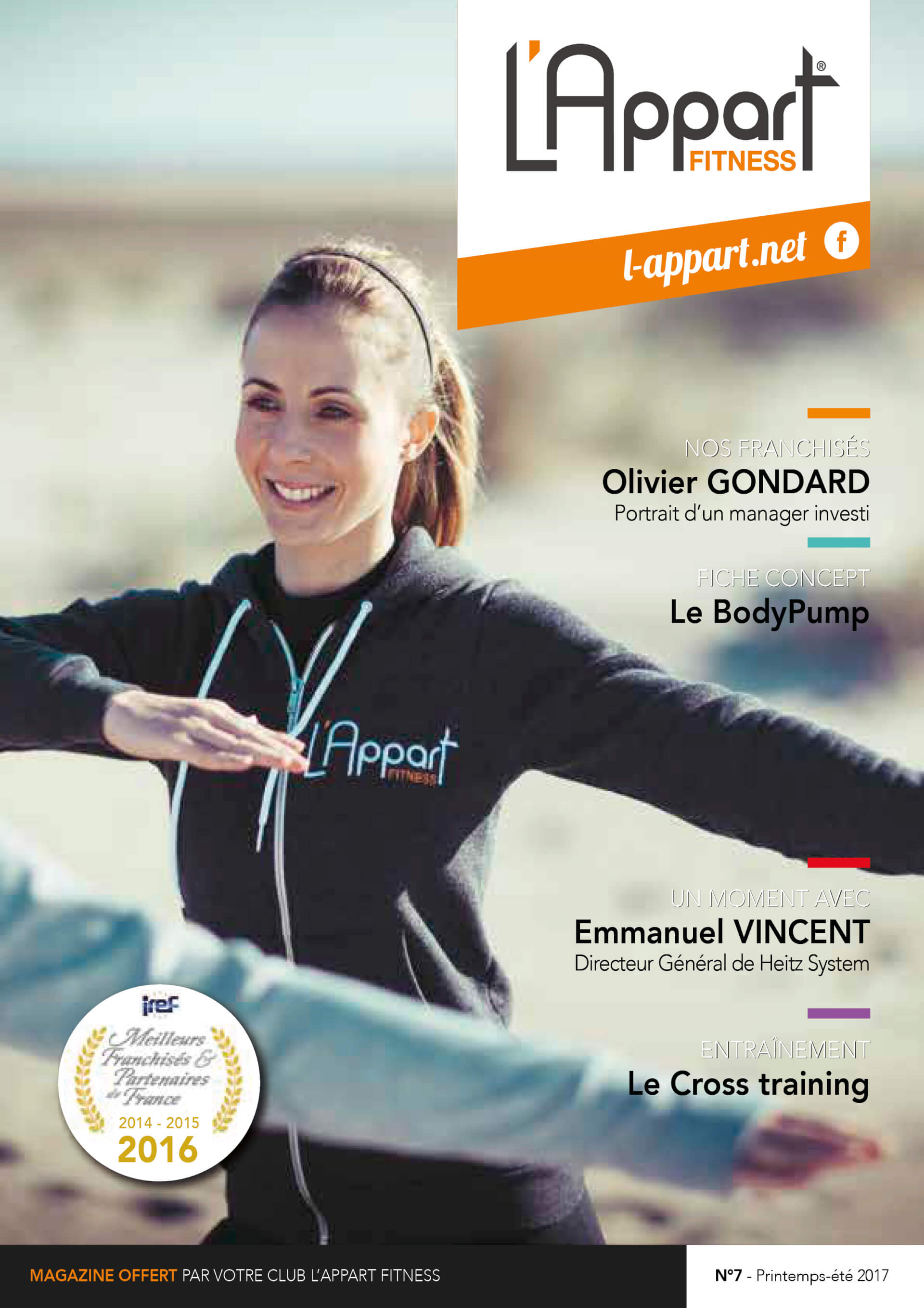 MAGAZINE L'APPART FITNESS N°7