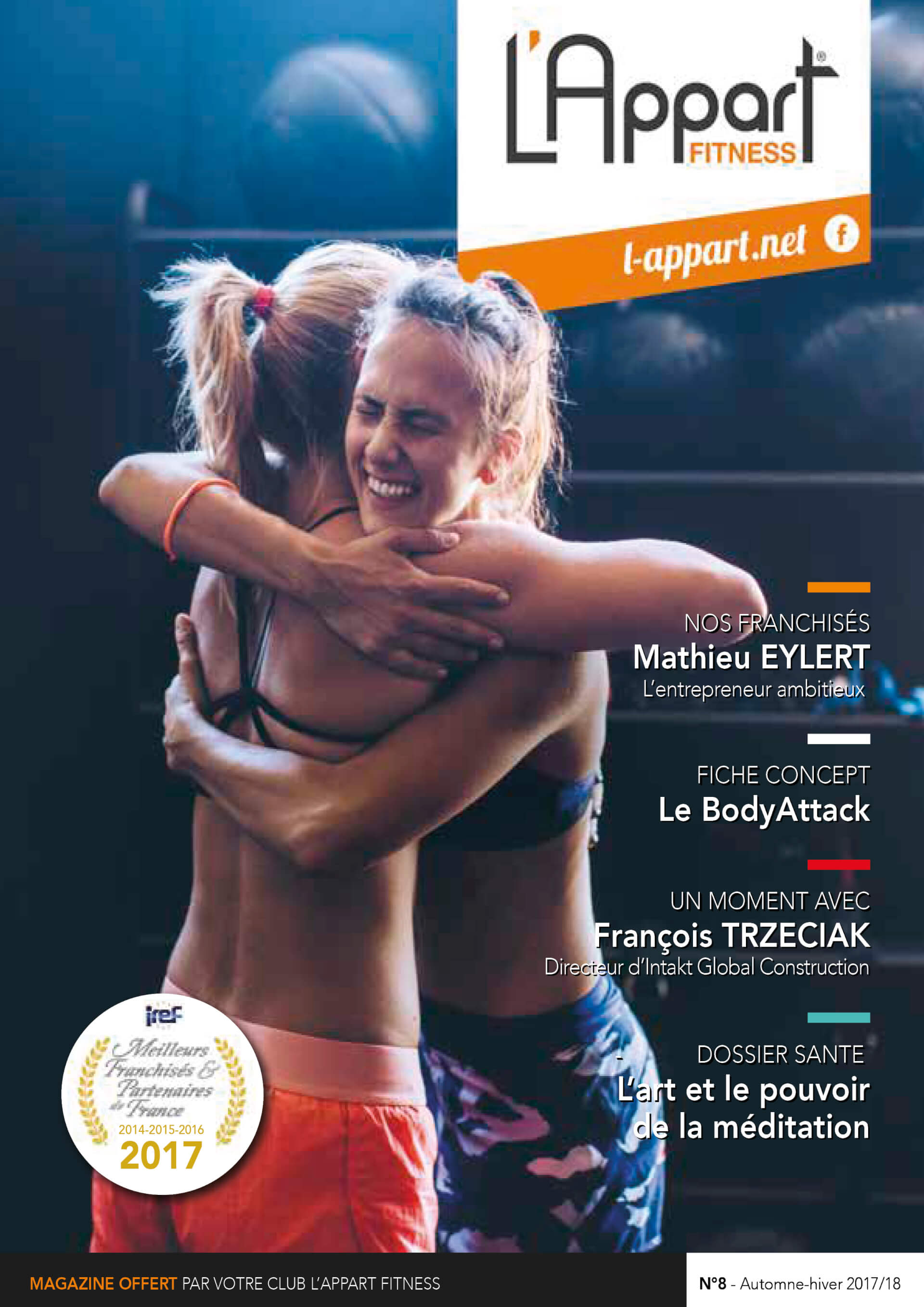 MAGAZINE L'APPART FITNESS N°8