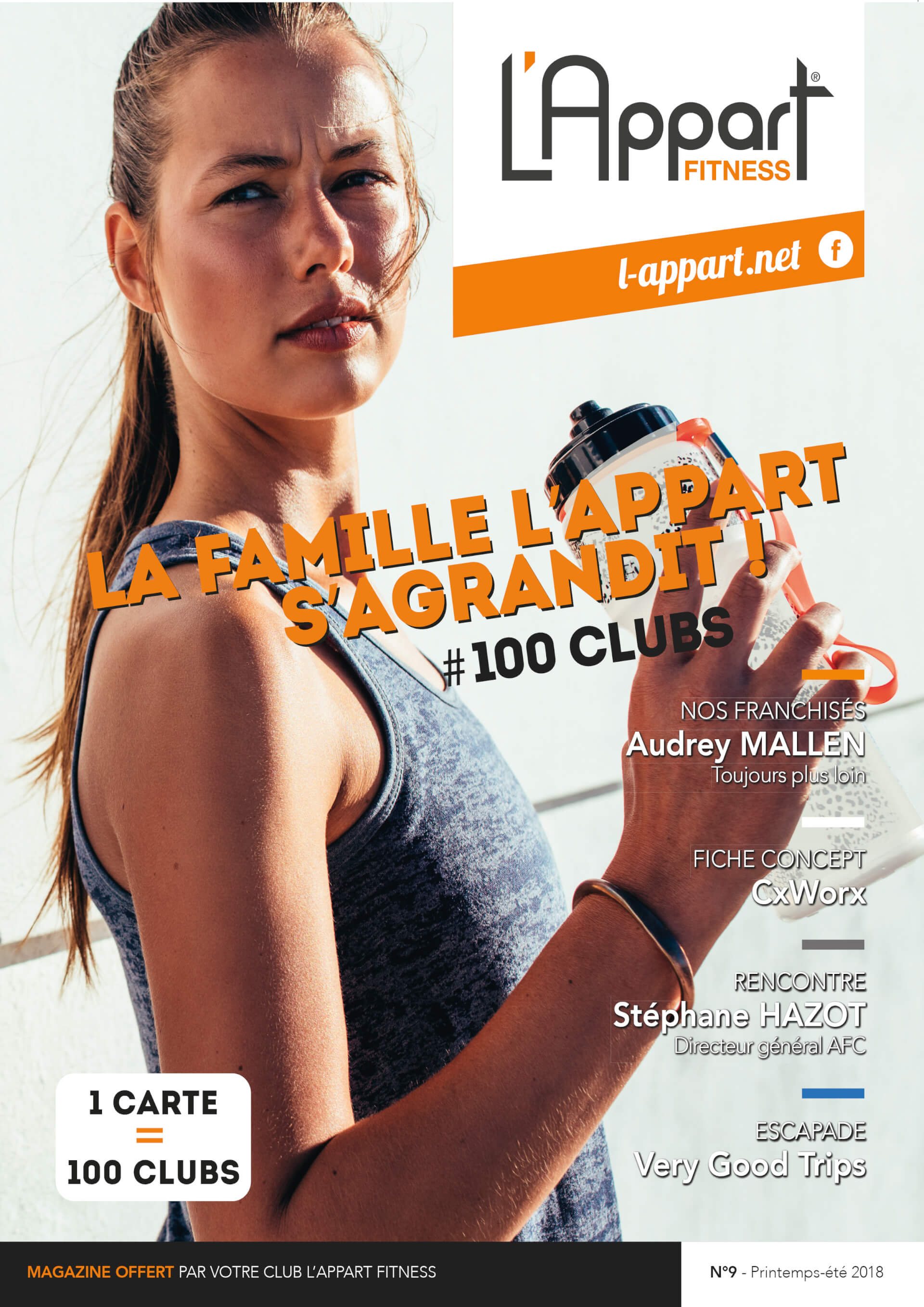 MAGAZINE L'APPART FITNESS N°9