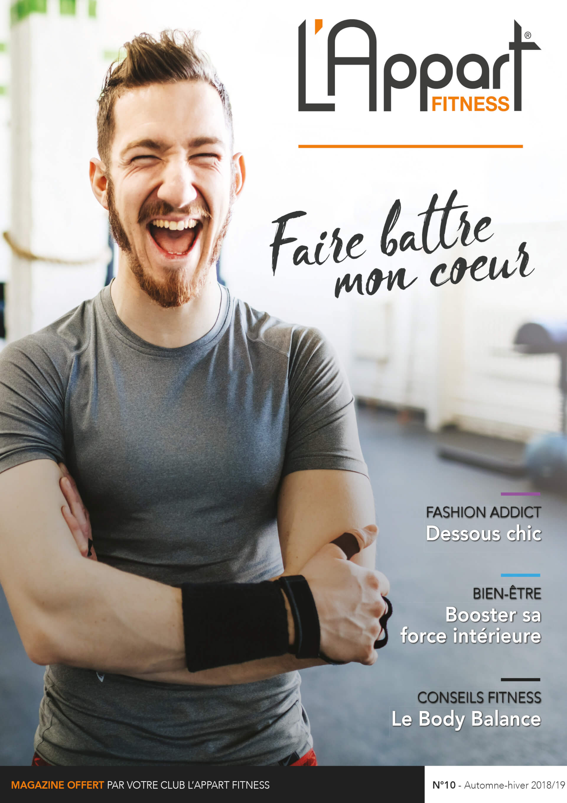 MAGAZINE L'APPART FITNESS N°10